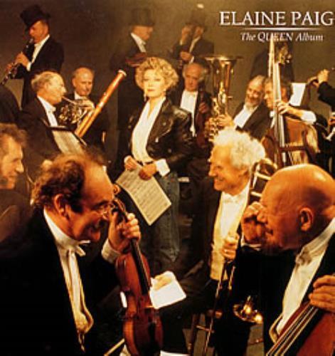 Elaine Paige The Queen Album vinyl LP album (LP record) UK EPGLPTH214466