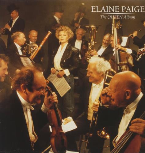 Elaine Paige The Queen Album vinyl LP album (LP record) UK EPGLPTH245935