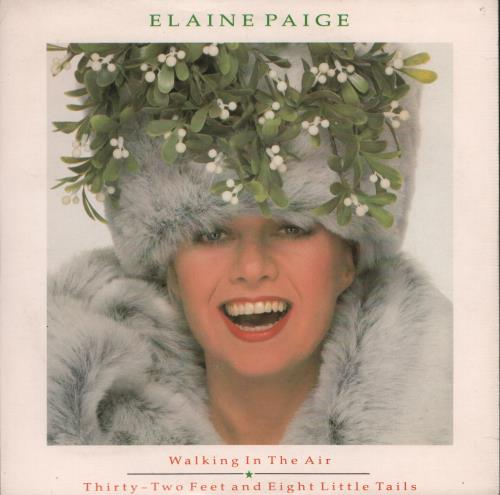 "Elaine Paige Walking In The Air 7"" vinyl single (7 inch record) UK EPG07WA647665"
