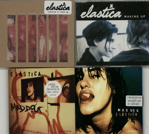 "Elastica Quantity of Eight CD Singles CD single (CD5 / 5"") UK ELAC5QU631439"