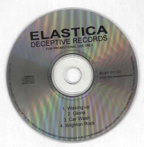 "Elastica Waking Up CD single (CD5 / 5"") UK ELAC5WA42212"