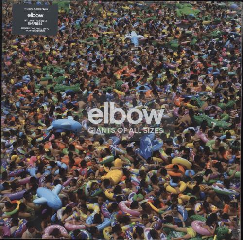 Elbow Giants Of All Sizes - Green Vinyl - Sealed 2-LP vinyl record set (Double Album) UK EBW2LGI731373