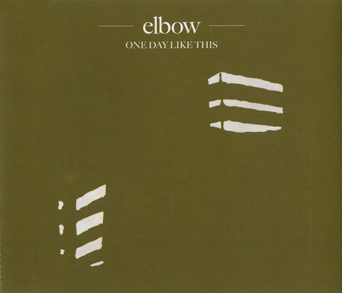 "Elbow One Day Like This UK Promo CD single (CD5 / 5"") (446880)"