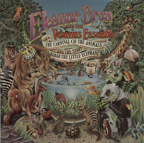 Eleanor Bron The Carnival Of The Animals / Babar The Little Elephant vinyl LP album (LP record) UK E-XLPTH604777