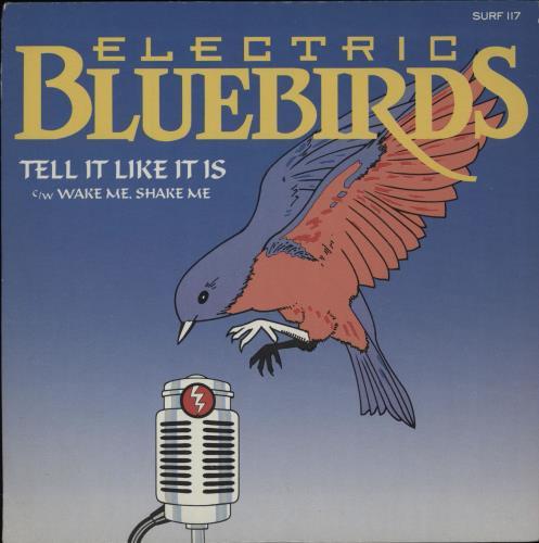 """Electric Bluebirds Tell It Like It Is 7"""" vinyl single (7 inch record) UK 4EB07TE754078"""