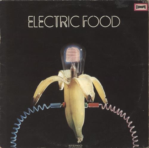 Electric Food Electric Food vinyl LP album (LP record) German 0NPLPEL734582