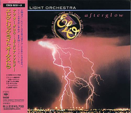 Electric Light Orchestra Afterglow 3-CD album set (Triple CD) Japanese ELO3CAF296486