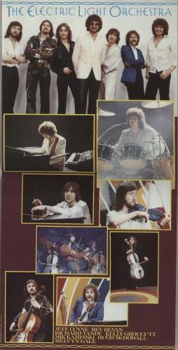 Electric Light Orchestra Discovery + Poster vinyl LP album (LP record) UK ELOLPDI654544
