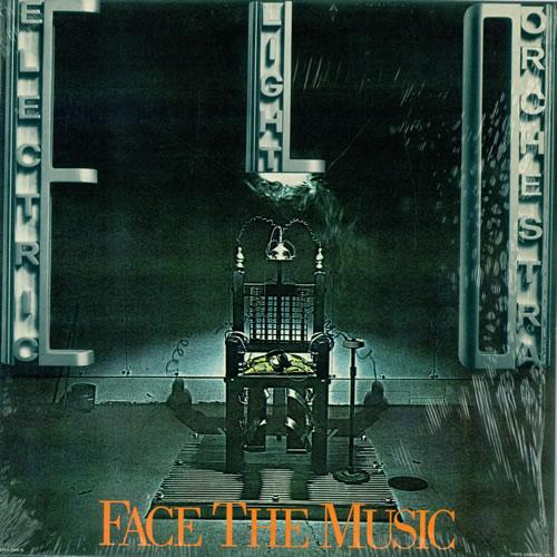 Electric Light Orchestra Face The Music vinyl LP album (LP record) US ELOLPFA492185