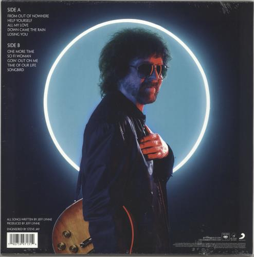 Electric Light Orchestra From Out Of Nowhere - 180gm Blue - Sealed vinyl LP album (LP record) UK ELOLPFR733043