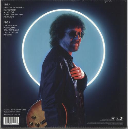 Electric Light Orchestra From Out Of Nowhere - 180gm Gold - Lenticular - Sealed vinyl LP album (LP record) UK ELOLPFR733045