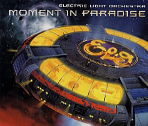 Electric Light Orchestra Moment In Paradise Japanese Promo