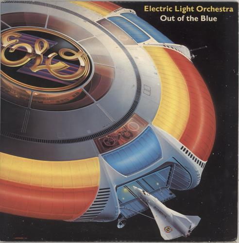 Electric Light Orchestra Out Of The Blue + Poster - EX 2-LP vinyl record set (Double Album) UK ELO2LOU549748