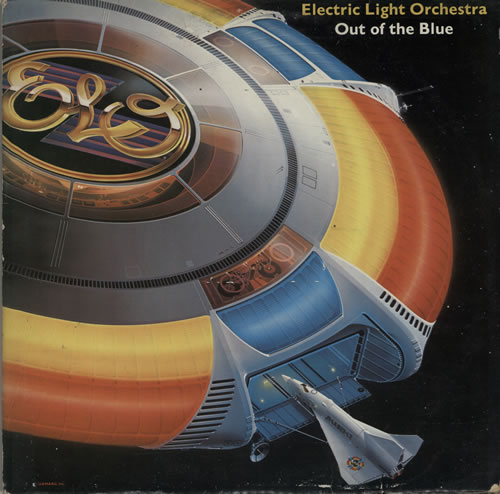 Electric Light Orchestra Out Of The Blue + Poster 2-LP vinyl record set (Double Album) UK ELO2LOU576251