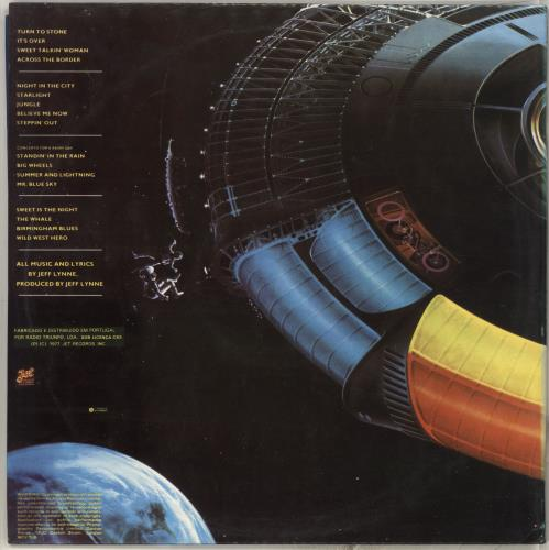 Electric Light Orchestra Out Of The Blue + Poster 2-LP vinyl record set (Double Album) Portugese ELO2LOU713081