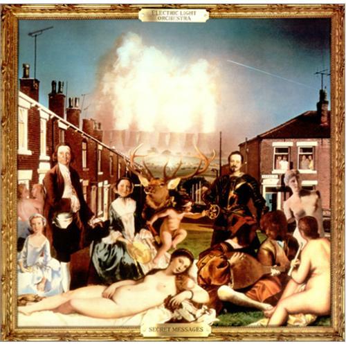 Electric Light Orchestra Secret Messages vinyl LP album (LP record) UK ELOLPSE415047