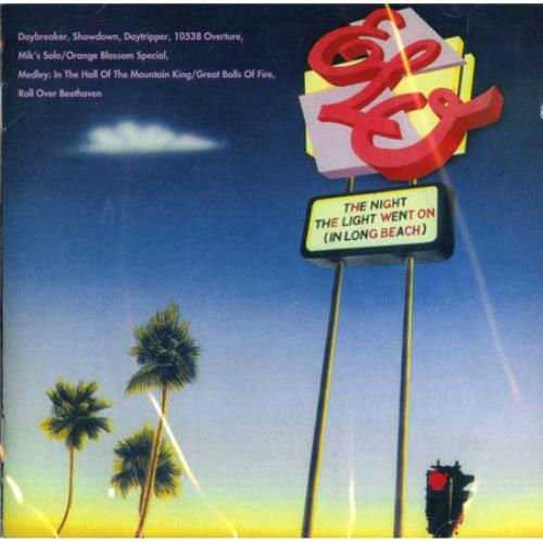 Electric Light Orchestra The Night the Lights Went on [In Long Beach] CD album (CDLP) UK ELOCDTH230226