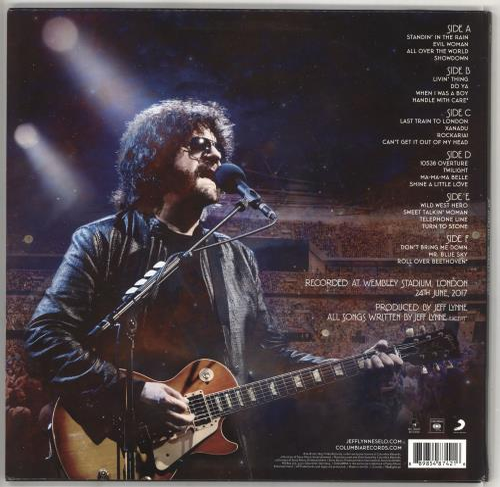 Electric Light Orchestra Wembley Or Bust - Sealed 3-LP vinyl record set (Triple Album) UK ELO3LWE732333