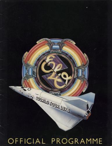 Electric Light Orchestra World Tour 1978 + Ticket Stub tour programme UK ELOTRWO686938