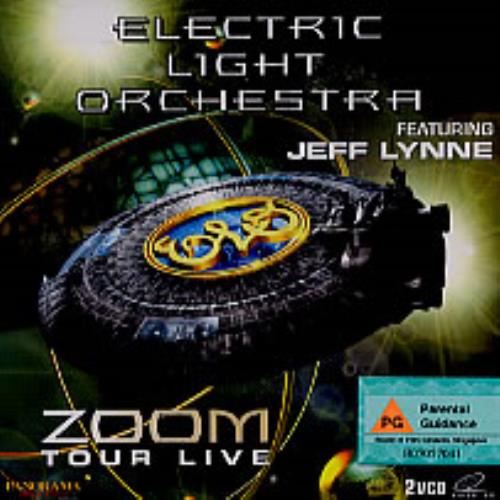 Electric Light Orchestra Zoom Tour Live Singapore Video Cd