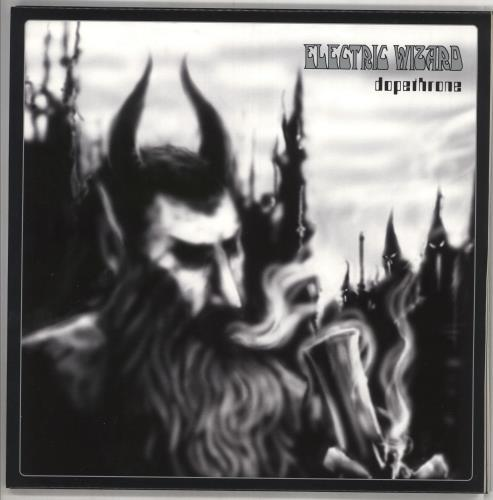 Electric Wizard Dopethrone - Crystal Clear Vinyl 2-LP vinyl record set (Double Album) UK I6H2LDO734472