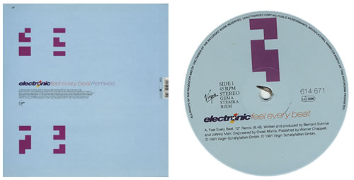 "Electronic Feel Every Beat - Remixes 12"" vinyl single (12 inch record / Maxi-single) German ELE12FE208564"