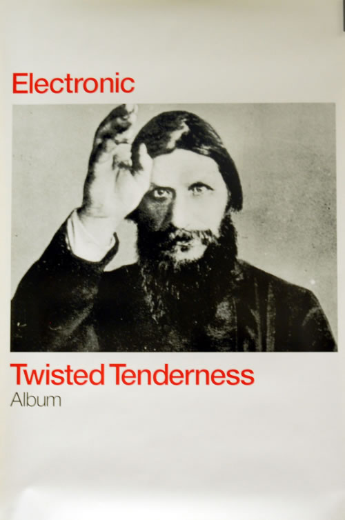 """Electronic Twisted Tenderness - 20"""" x 30"""" poster UK ELEPOTW255315"""