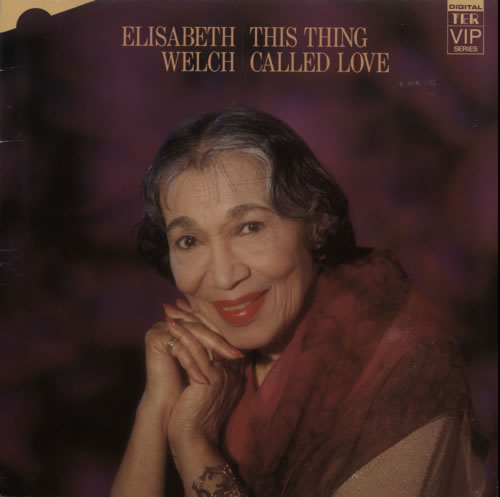 Elisabeth Welch This Thing Called Love vinyl LP album (LP record) UK F8YLPTH619605