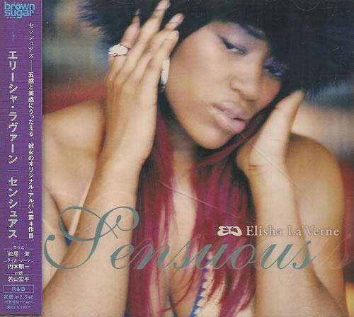 Elisha La'Verne Sensuous - Sealed CD album (CDLP) Japanese EFVCDSE487409