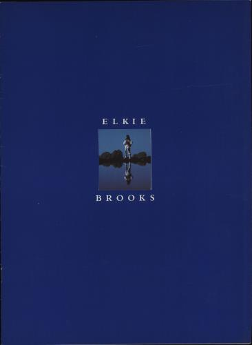 Elkie Brooks Elkie Brooks + ticket stubs tour programme UK EKBTREL679470