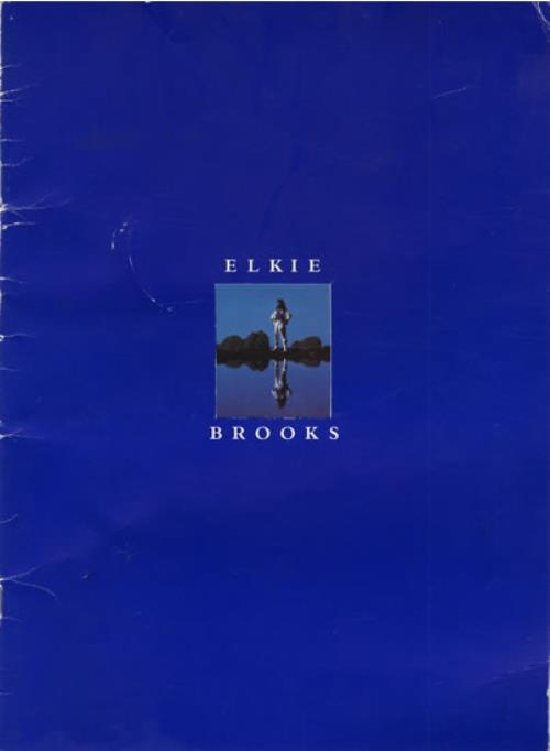 Elkie Brooks Elkie Brooks tour programme UK EKBTREL557667