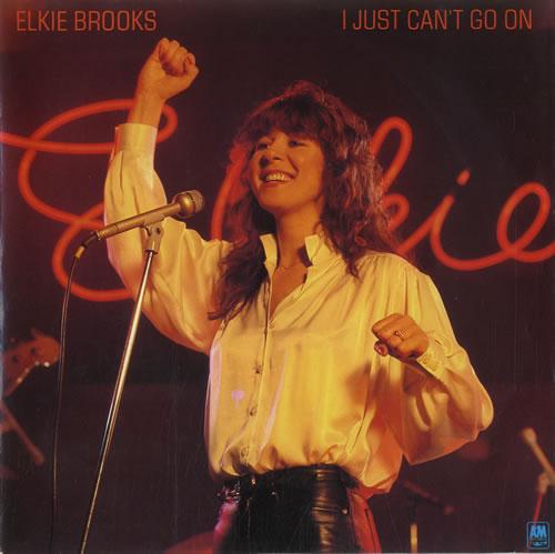 "Elkie Brooks I Just Can't Go On 7"" vinyl single (7 inch record) UK EKB07IJ587007"