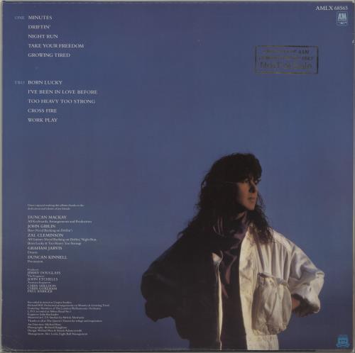 Elkie Brooks Minutes - Gold Stamped Sleeve + Insert vinyl LP album (LP record) UK EKBLPMI674672