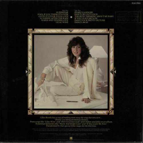 Elkie Brooks Pearls - Gold Promo Stamped vinyl LP album (LP record) UK EKBLPPE636362