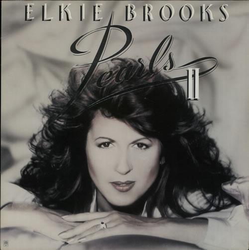 Elkie Brooks Pearls II + Merch Insert vinyl LP album (LP record) UK EKBLPPE640881