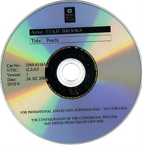 Elkie Brooks Pearls DVD US EKBDDPE358000