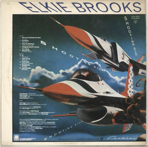 Elkie Brooks Shooting Star vinyl LP album (LP record) Portugese EKBLPSH698715