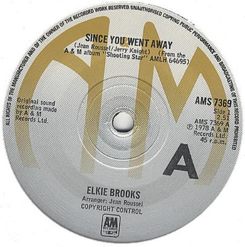 "Elkie Brooks Since You Went Away 7"" vinyl single (7 inch record) UK EKB07SI385697"