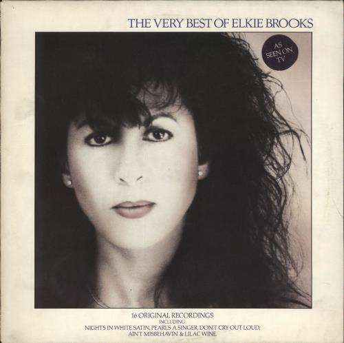 Elkie Brooks The Very Best Of Elkie Brooks vinyl LP album (LP record) UK EKBLPTH543989