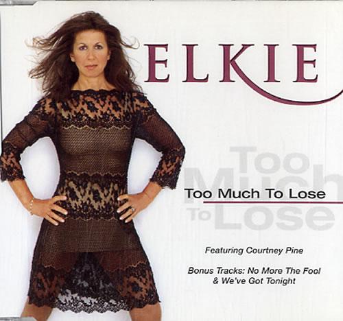 """Elkie Brooks Too Much To Lose CD single (CD5 / 5"""") UK EKBC5TO239085"""
