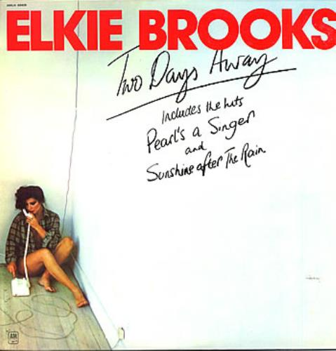 Elkie Brooks Two Days Away vinyl LP album (LP record) Israeli EKBLPTW298408