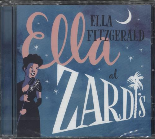Ella Fitzgerald Ella At Zardi's - Sealed CD album (CDLP) Dutch EFZCDEL727206