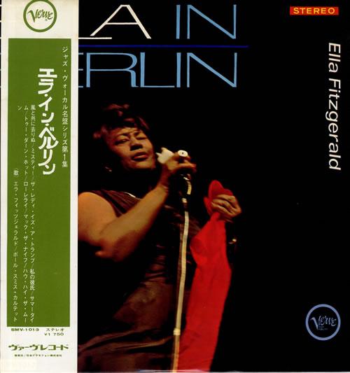 Ella Fitzgerald Ella In Berlin vinyl LP album (LP record) Japanese EFZLPEL557857