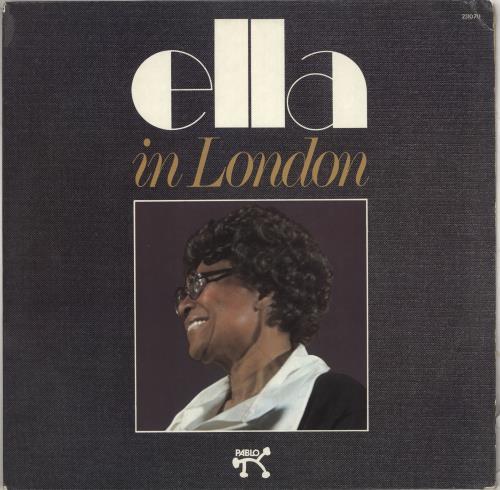 Ella Fitzgerald Ella In London vinyl LP album (LP record) US EFZLPEL712211