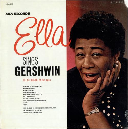 ella fitzgerald ella sings gershwin sealed vinyl lp album lp record