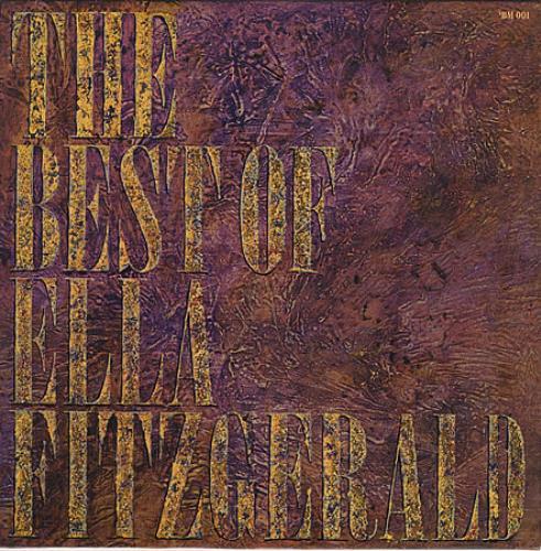 Ella Fitzgerald The Best Of Ella Fitzgerald vinyl LP album (LP record) German EFZLPTH404906