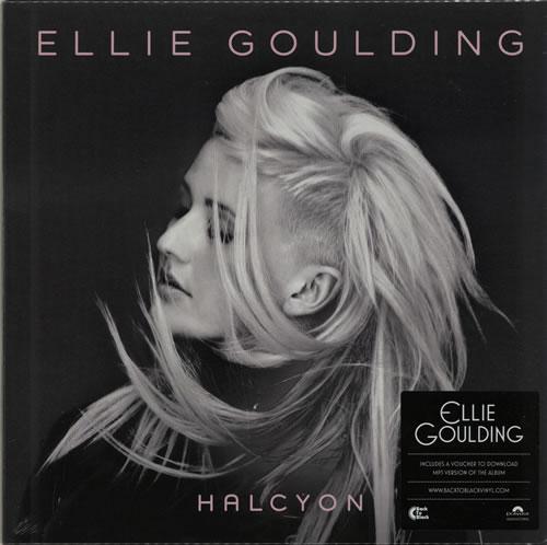 Ellie Goulding Halcyon - Sealed + Download Voucher vinyl LP album (LP record) UK ENPLPHA632518