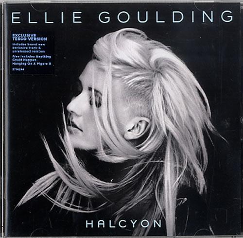 Ellie Goulding Halcyon Tesco Exclusive Uk Cd Album Cdlp