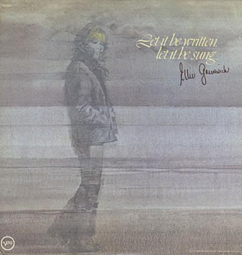 Ellie Greenwich Let It Be Written Let It Be Sung vinyl LP album (LP record) US ELGLPLE62039