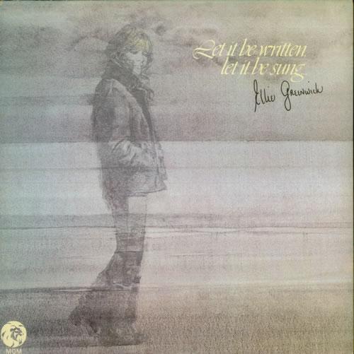 Ellie Greenwich Let It Be Written, Let It Be Sung vinyl LP album (LP record) UK ELGLPLE545517